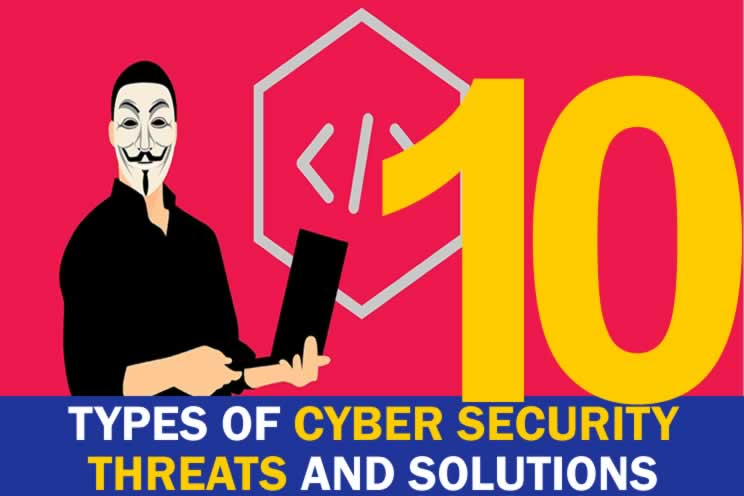 10-types-of-cyber-security-threats-and-solutions