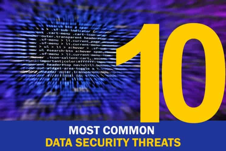 most-common-data-security-threats