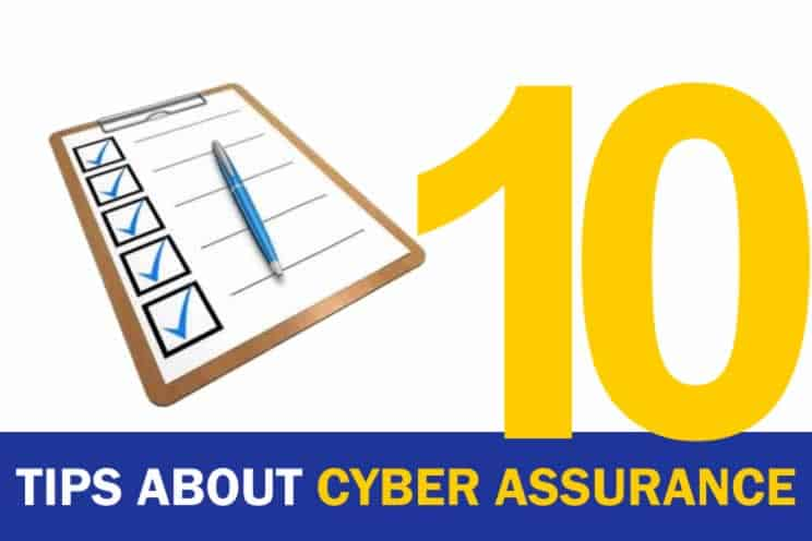 10 tips about cyber assurance